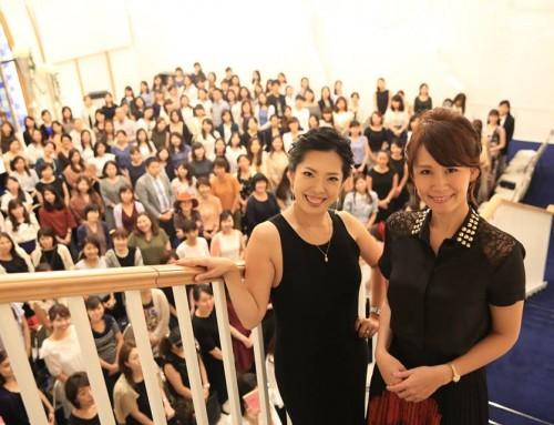 9/15_【レポート】鈴木実歩・小田桐あさぎスペシャルコラボ  普通の会社員だった毎日を卒業し、幸せな生き方を実現した方法。「私たちがどう人生を変えたかトークショー」開催