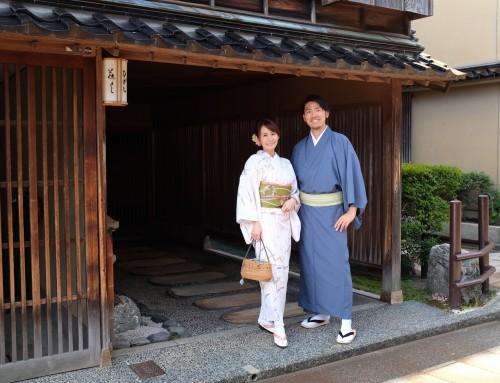 【金沢旅行】 北陸新幹線グランクラスに乗り、茶屋街を着物で散策